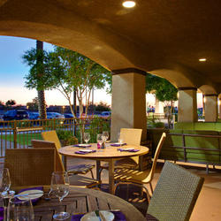 Relax at the Outdoor Patio